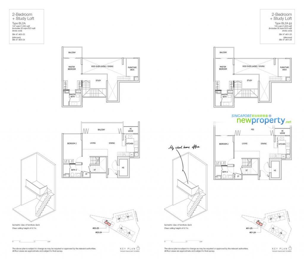 Mon Jervois Floor Plan