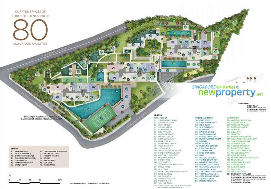 Stirling Residences Siteplan