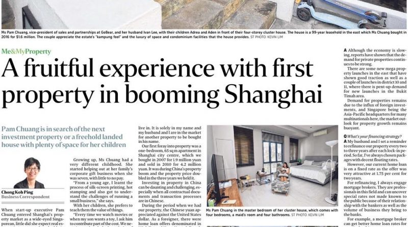 A fruitful experience with first property boom in Shanghai