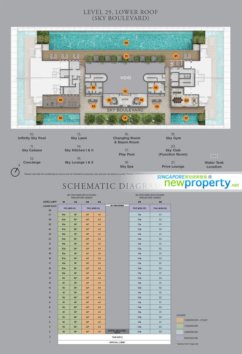 Boulevard 88 Site Plan 2