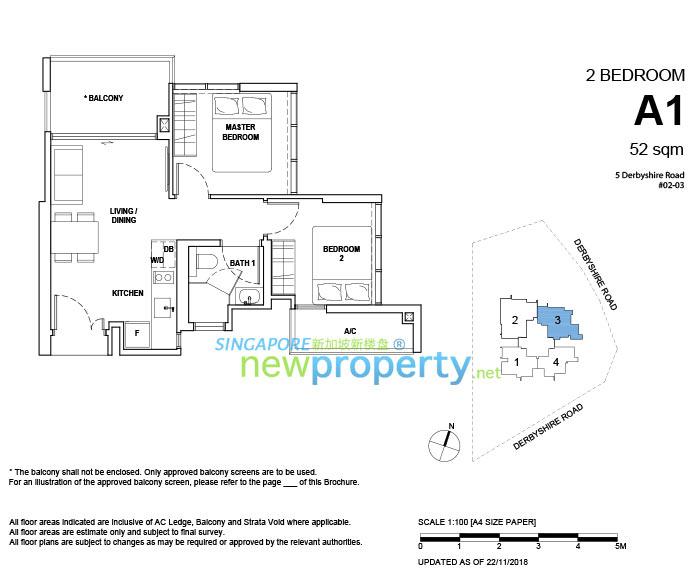 FYVE Derbyshire Floor Plan