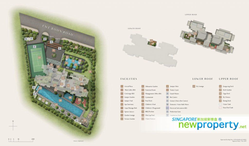 Juniper Hill Siteplan