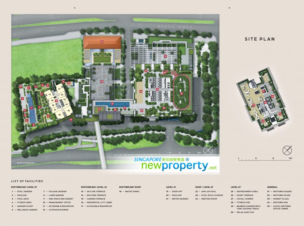MidTown Bay Site Plan