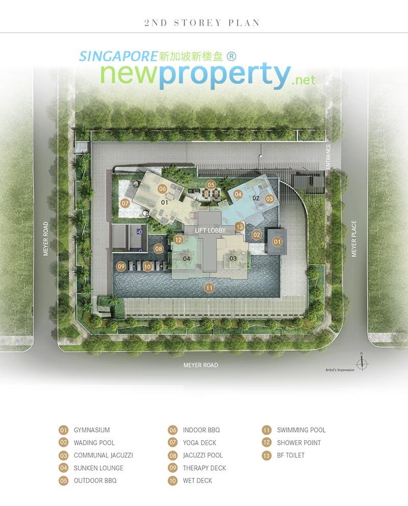 One Meyer Siteplan