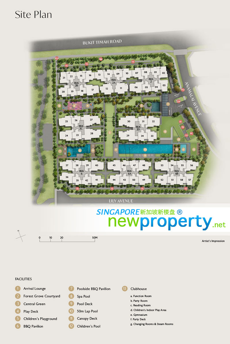 RoyalGreen Site Plan 1
