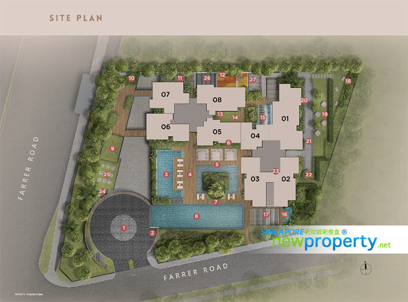 Whilsire Residences Site Plan