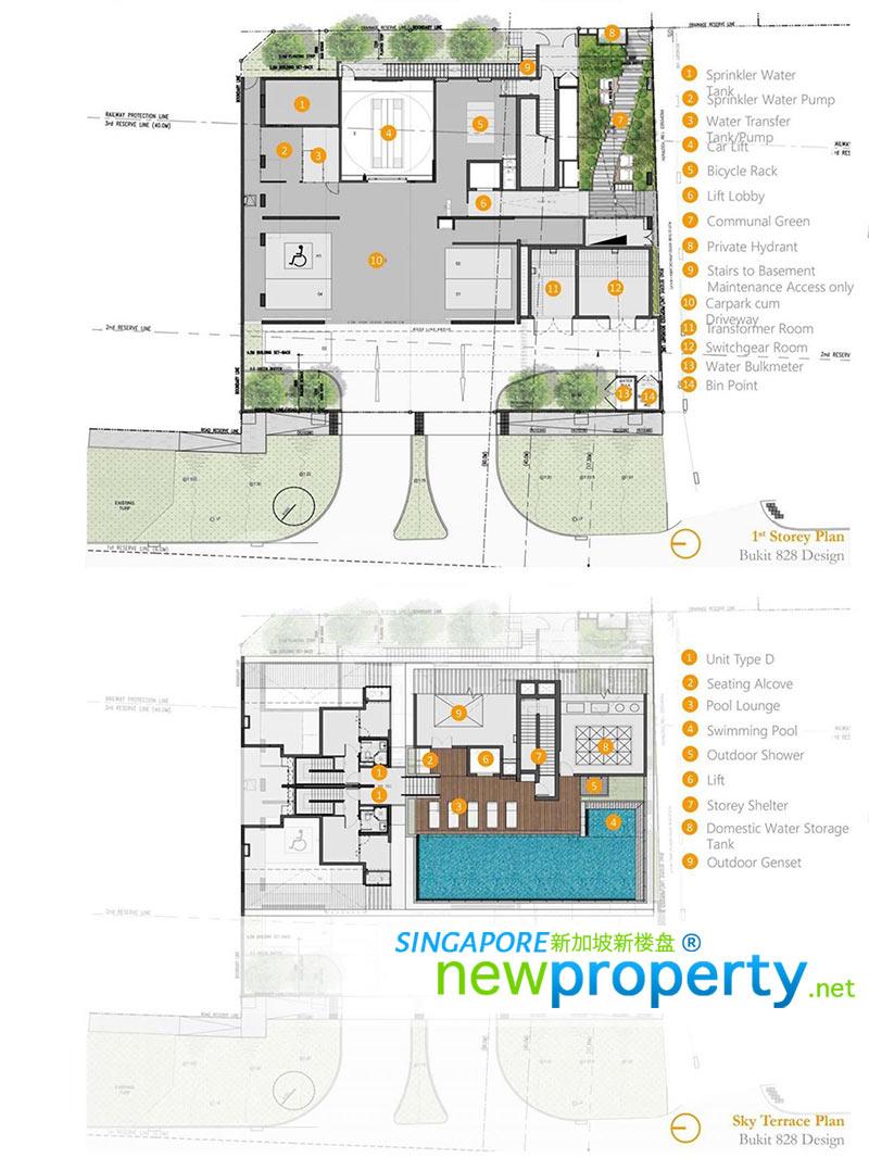 Bukit 828 Site Plan