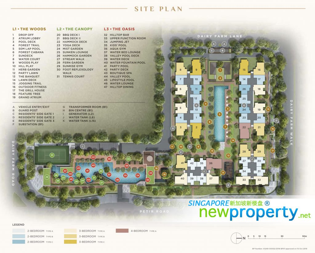 Dairy Farm Residences -Site Plan
