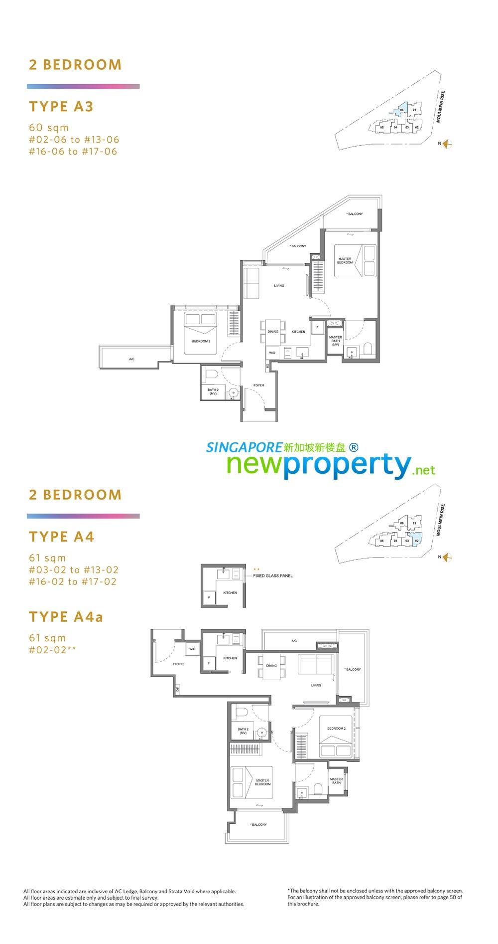 NEU @ Novena Floor Plan 1