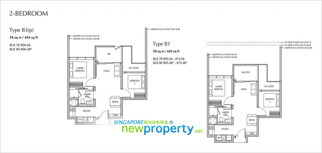 Sengkang Grand Residences Floor Plan