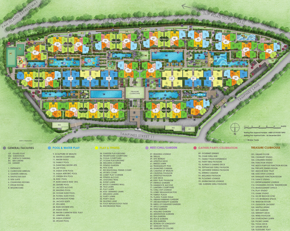 Treasure at Tampines-SitePlan