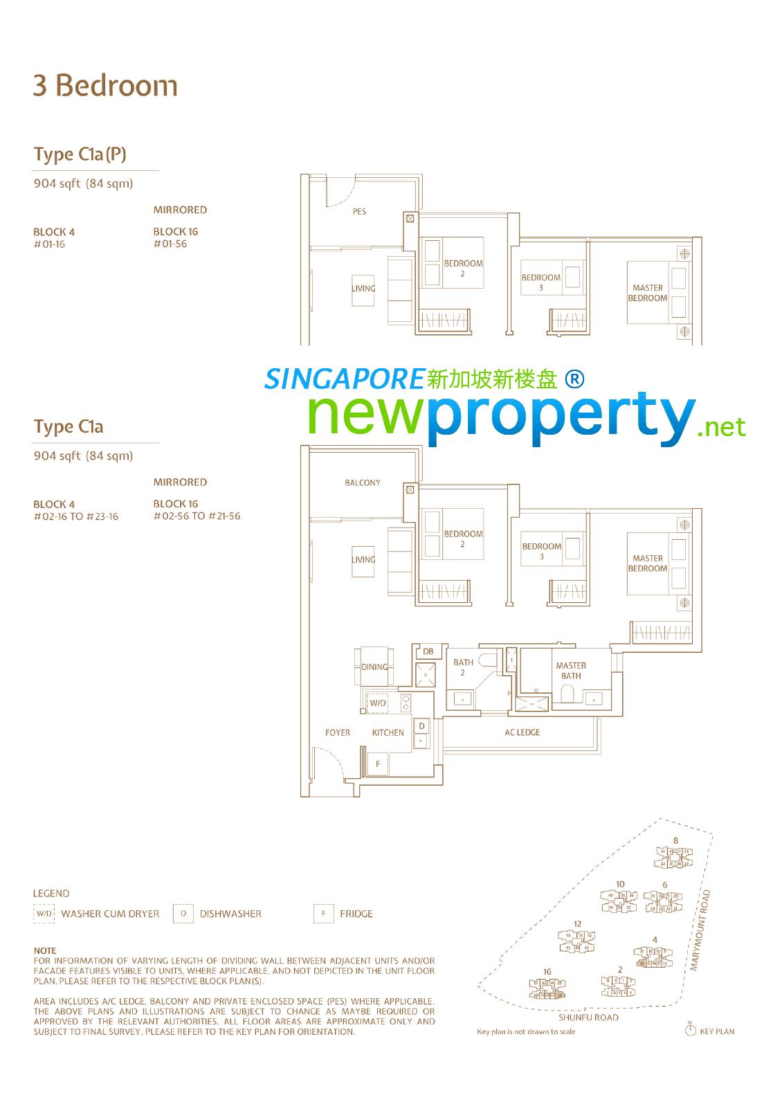 Jadescape - 3 Bedroom Floor Plan