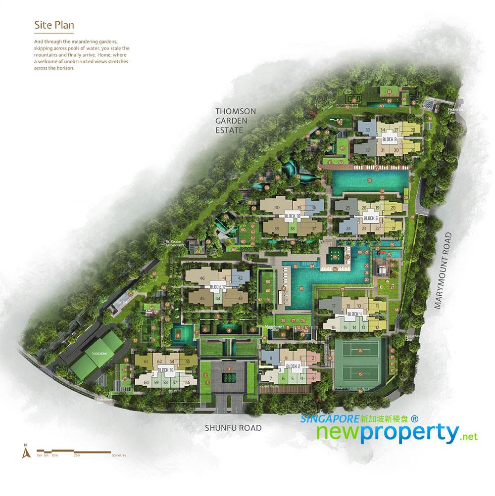 Jadescape Site Plan