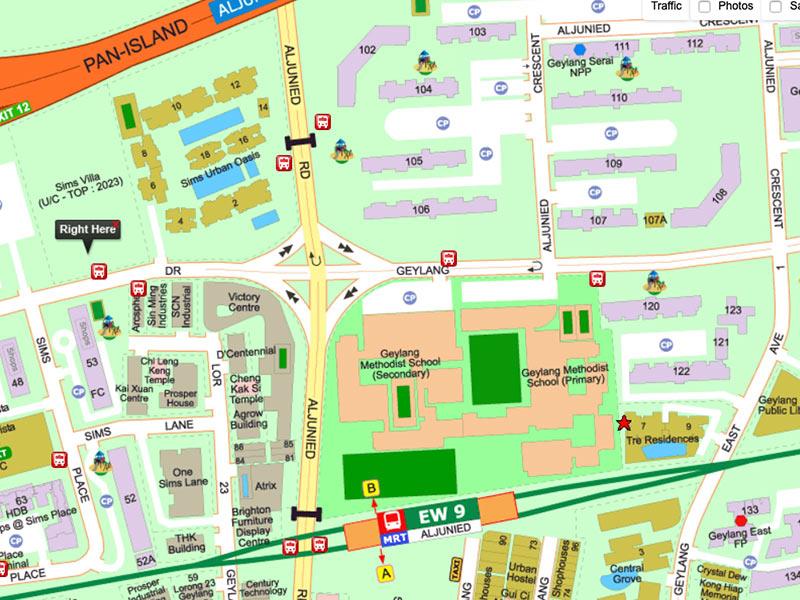 Penrose Map