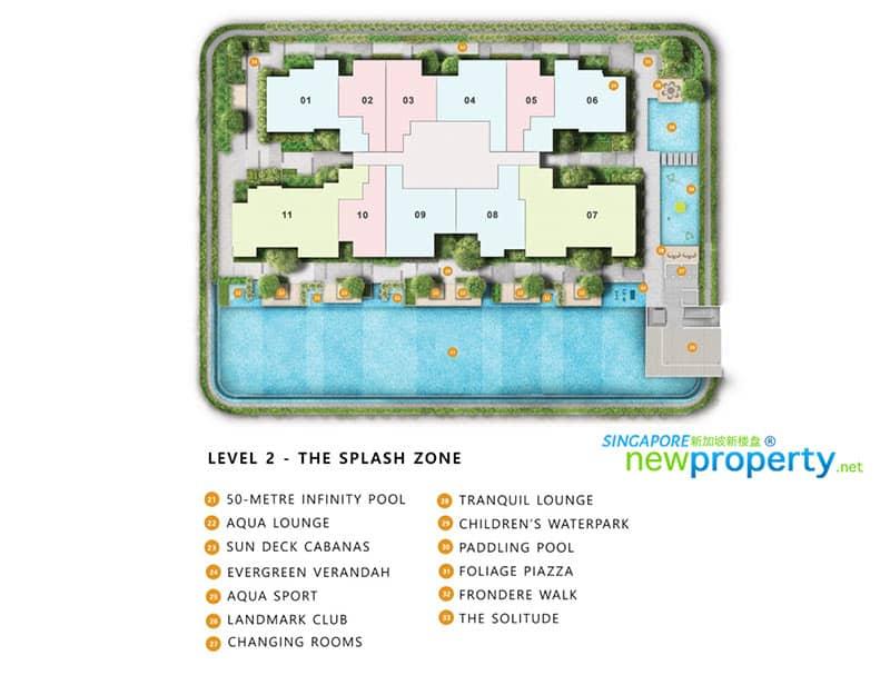 The Landmark Condo Site Plan