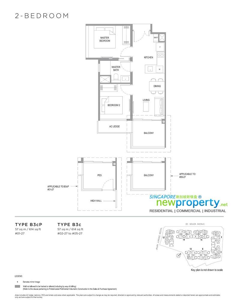Verdale-2-Bedroom-Floor-Plan