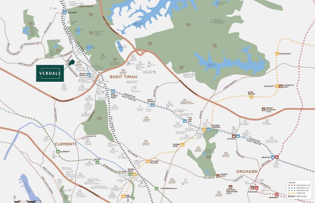 verdale-condo-location-map