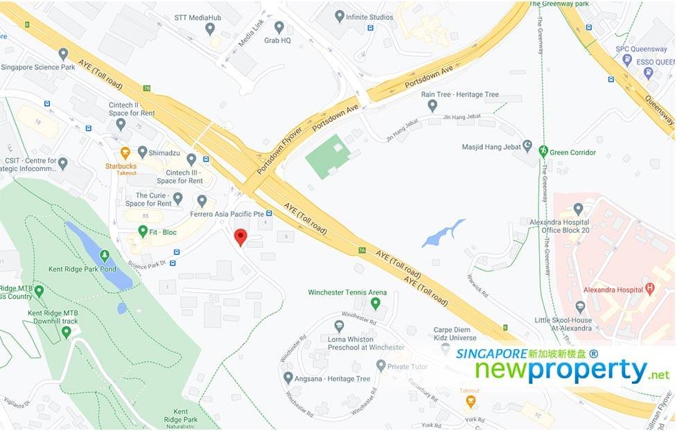 Normanton-Park-Map