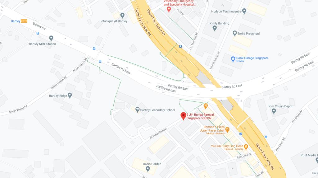 Parc Rampai Map