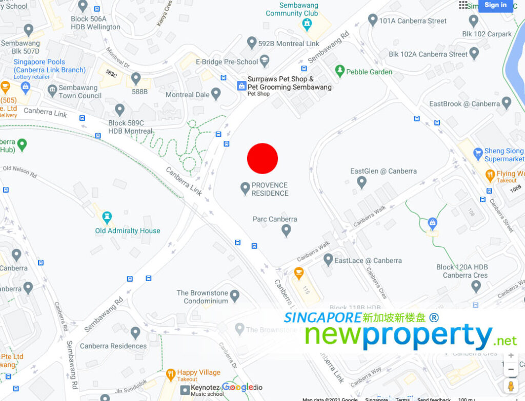 Provence-Residences-Map